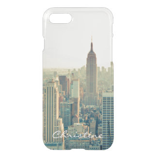 New York City NY NYC Skyline-Reise-individueller iPhone 8/7 Hülle