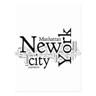 New York City Postkarte