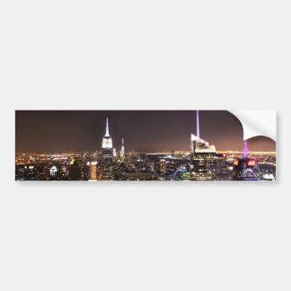 New York City (Reich-Staats-Gebäude) Autoaufkleber