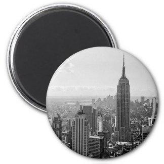 New York City Runder Magnet 5,7 Cm