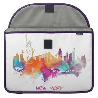 New York City Sleeve Für MacBooks