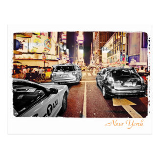New York City Stree Postkarte