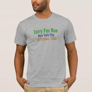 New York City, Terryfox-Lauf, am 18. Oktober 2008 T-Shirt