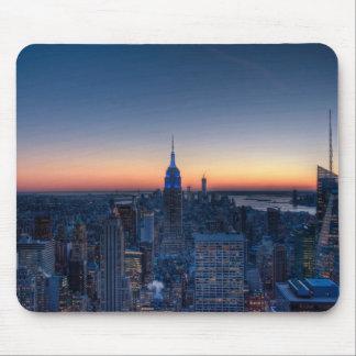 New York City von der Spitze der Rockefeller-Mitte Mousepads