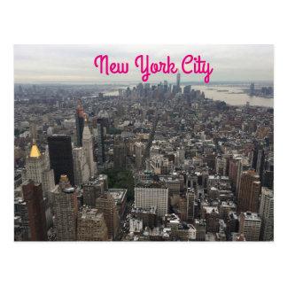 New- York Cityansicht-Postkarte Postkarte