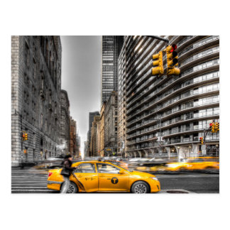 New- York Cityfahrerhäuser, Central Park Postkarte