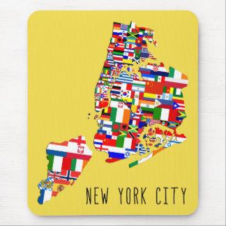 New- York CityHerkunfts-Nachbarschaft kennzeichnet Mousepad