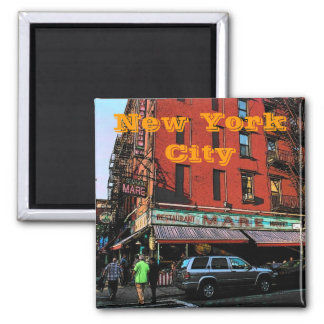New- York Citymagnet Quadratischer Magnet