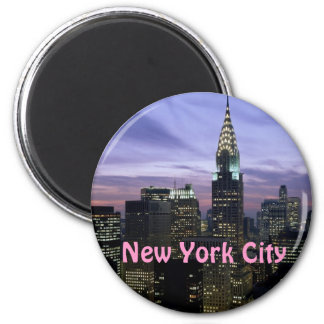 New- York Citymagnet Runder Magnet 5,1 Cm