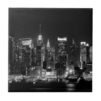 New- York Citynacht Keramikfliese