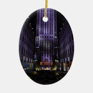 New- York Cityphotographie-Kanal-Gärten NYC Keramik Ornament