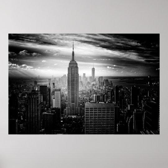 New- York Cityreich-Staats-Gebäude Poster