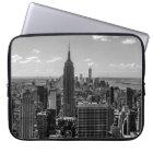 New- York Cityreich-Staats-GebäudeSkyline Laptopschutzhülle