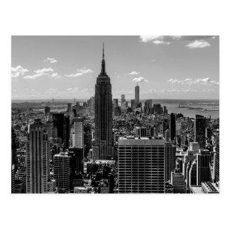 New- York Cityreich-Staats-GebäudeSkyline Postkarte