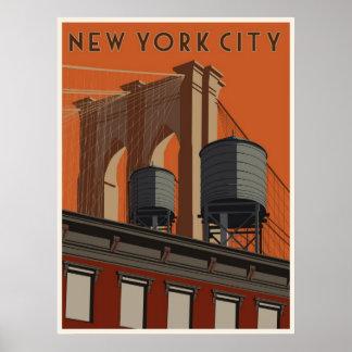 New- York Cityreiseplakat Poster