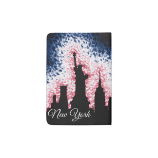 New- York CitySilhouette Passhülle