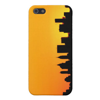 New- York CitySkyline am Sonnenuntergang, iPhone 5 Cover