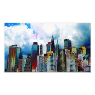 New- York CitySkyline Fotodruck