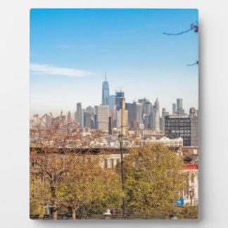New- York CitySkyline Fotoplatte