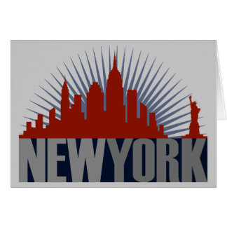 New- York CitySkyline Karte