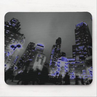 New York Cityskyline Pop-Kunstphotographie Mauspad