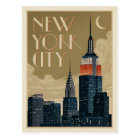 New- York CitySkyline Postkarte