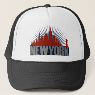 New- York CitySkyline Truckerkappe