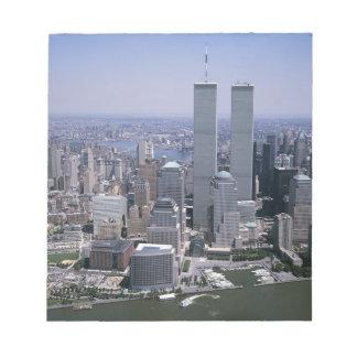 New- York CitySkyline-Twin Tower Notizblock