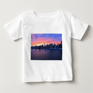 New- York Citysonnenuntergang T-shirt
