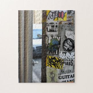 New- York Citystraßen-Kunst-städtische Fotografie Puzzle