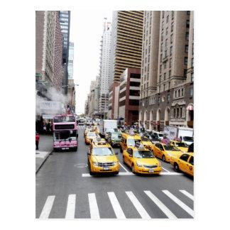 New- York Citytaxis Postkarte
