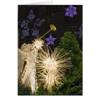 New- York Cityweihnachten Grußkarte