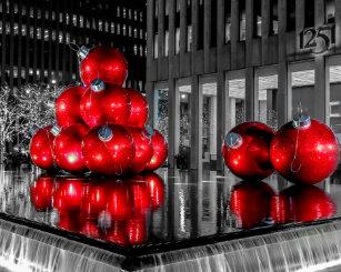 Weihnachtsbilder New York.Weihnachtsbilder Leinwandkunst Zazzle De