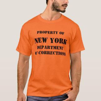 NEW YORK, DEPARTMENTOF KORREKTUREN T-Shirt