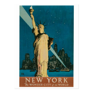 New York: Die Wunder-Stadt des Weltplakats Postkarte