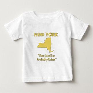 New York - dieser Geruch ist vermutlich Urin Baby T-shirt