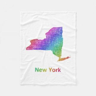 New York Fleecedecke