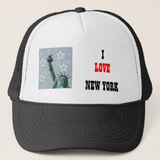 new york, I, LOVE, NEW YORK Truckerkappe
