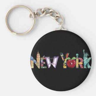 New York keychain Schlüsselanhänger