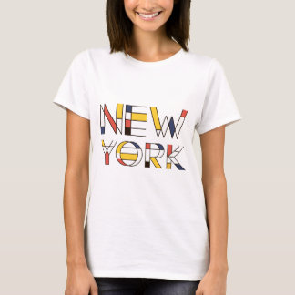 New York künstlerisch, neoplasticism Art T-Shirt