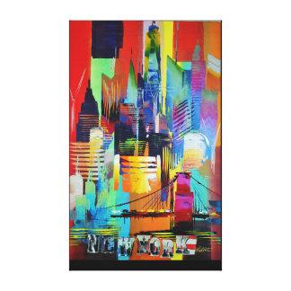 New York lang 192 Leinwanddruck
