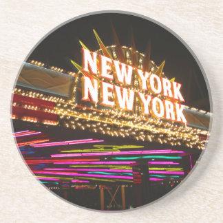 New York New York in Vegas Getränkeuntersetzer