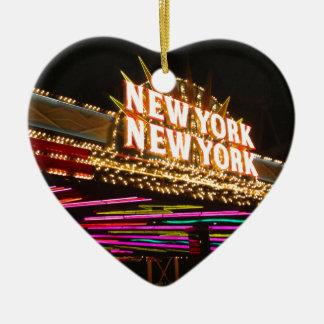 New York New York in Vegas Keramik Ornament