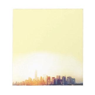 New York New York Notizblock