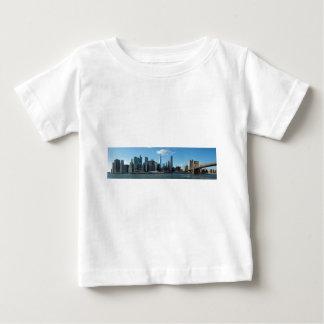 New York Nov Panorama Baby T-shirt