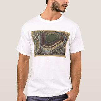 New York, NY - Yankee Stadium von der Luft #1 T-Shirt