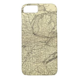 New- York, Pennsylvania- und Ohio-Eisenbahn iPhone 8/7 Hülle