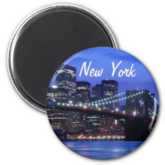 New York Runder Magnet 5,1 Cm