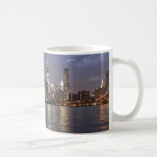 New York Skyline Hudson River World Trade Center Kaffeetasse