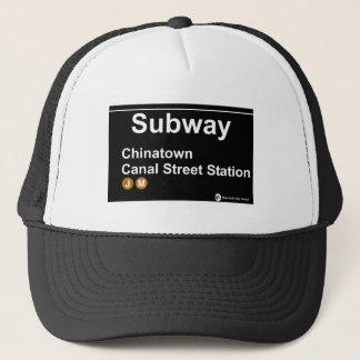 New York Subway Station Truckerkappe